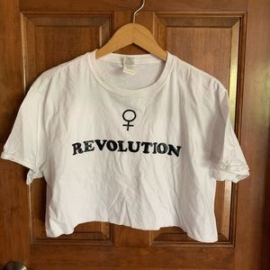 Woman Revolution T-shirt (Charlotte Russe)